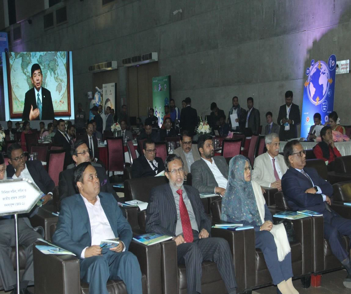 Audience watching the Audio-Visual message of WCO Secretary General
