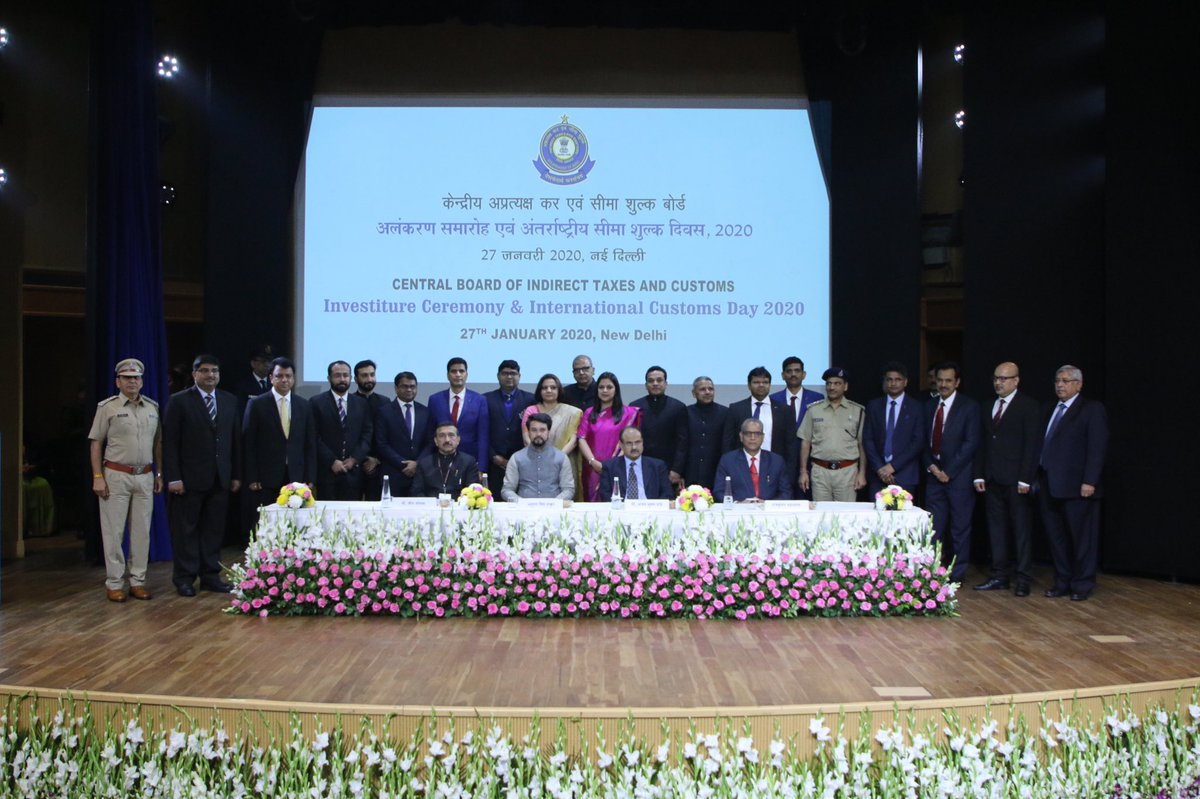 INTERNATIONAL CUSTOMS DAY CELEBRATION IN INDIA